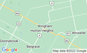 Map of Wingham Trailer Park