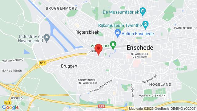 Bennie+Wilmink+Enschede op Google Maps