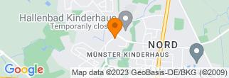 Google Map of Westhoffstraße 128 48159 Münster