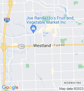 Westland MI Map