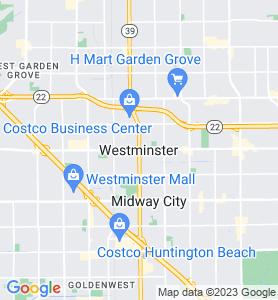 Westminster CA Map