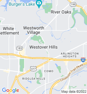 Westover Hills TX Map