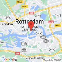 Google map of Atlantic Huis, Rotterdam