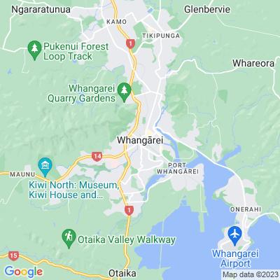 Whangarei   Locations   NGTC 2018 Ltd