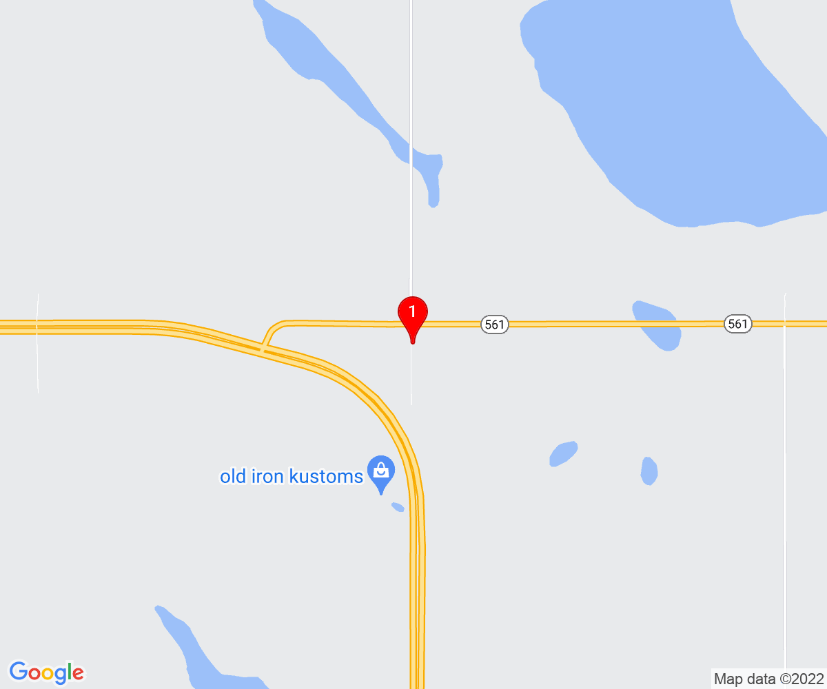 Google Map of Wheatland Crossing School Strathmore