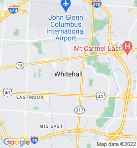 Whitehall OH Map