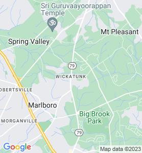 Wickatunk NJ Map