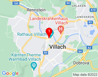 Google Map of Widmanngasse 43, 9500 Villach