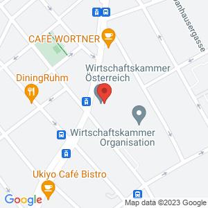 Google Map of Wiedner Hauptstraße 63, A-1045 Wien