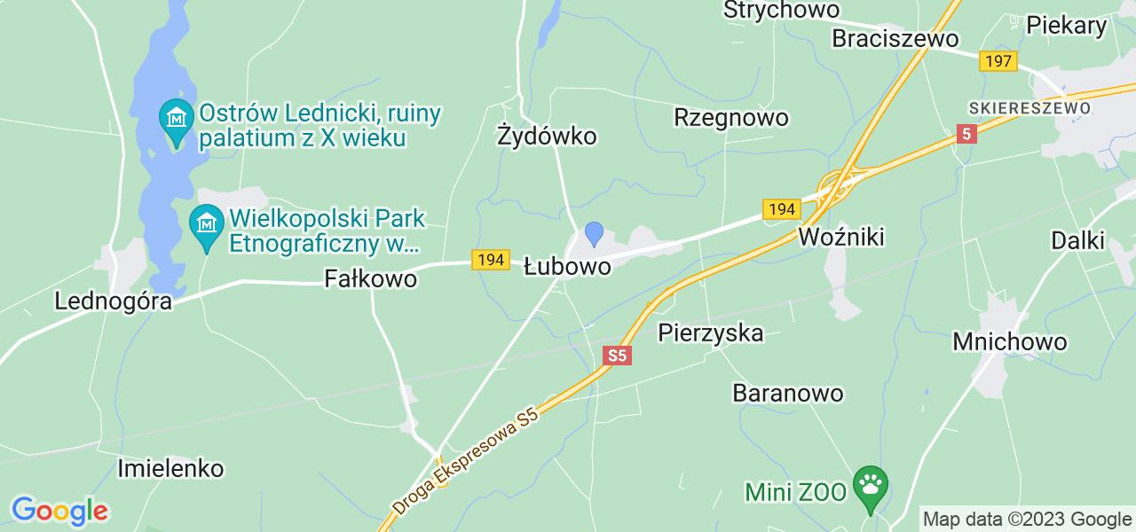 Dostępne w Łubowie lokalizacje punktów nadania, z których możesz skorzystać, chcąc wysłać turbinę do regeneracji w największym serwisie w Polsce