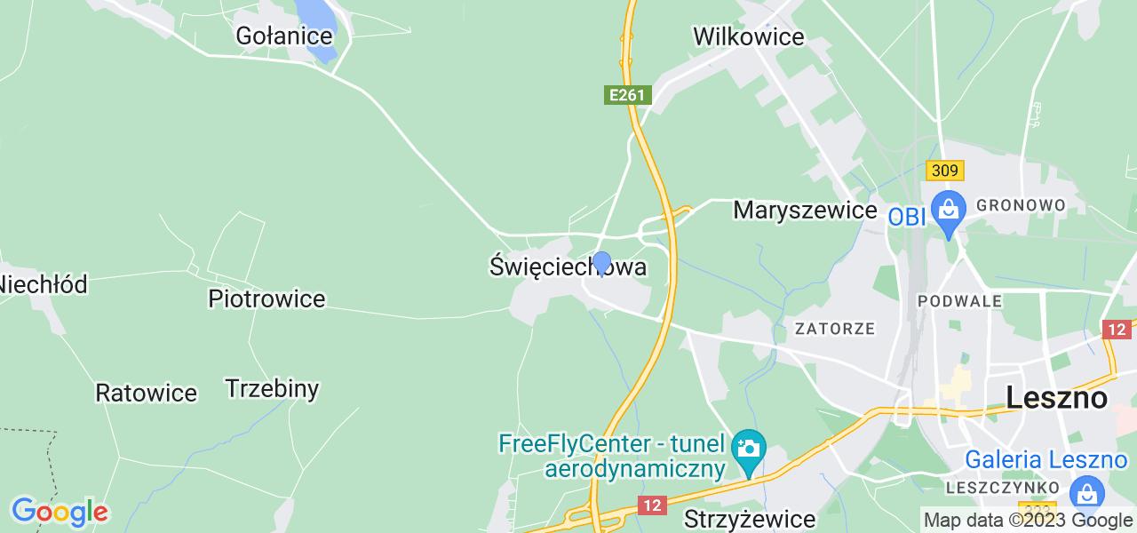 Dostępne w Święciechowie lokalizacje punktów nadania, z których możesz skorzystać, chcąc wysłać turbinę do regeneracji w największym serwisie w Polsce