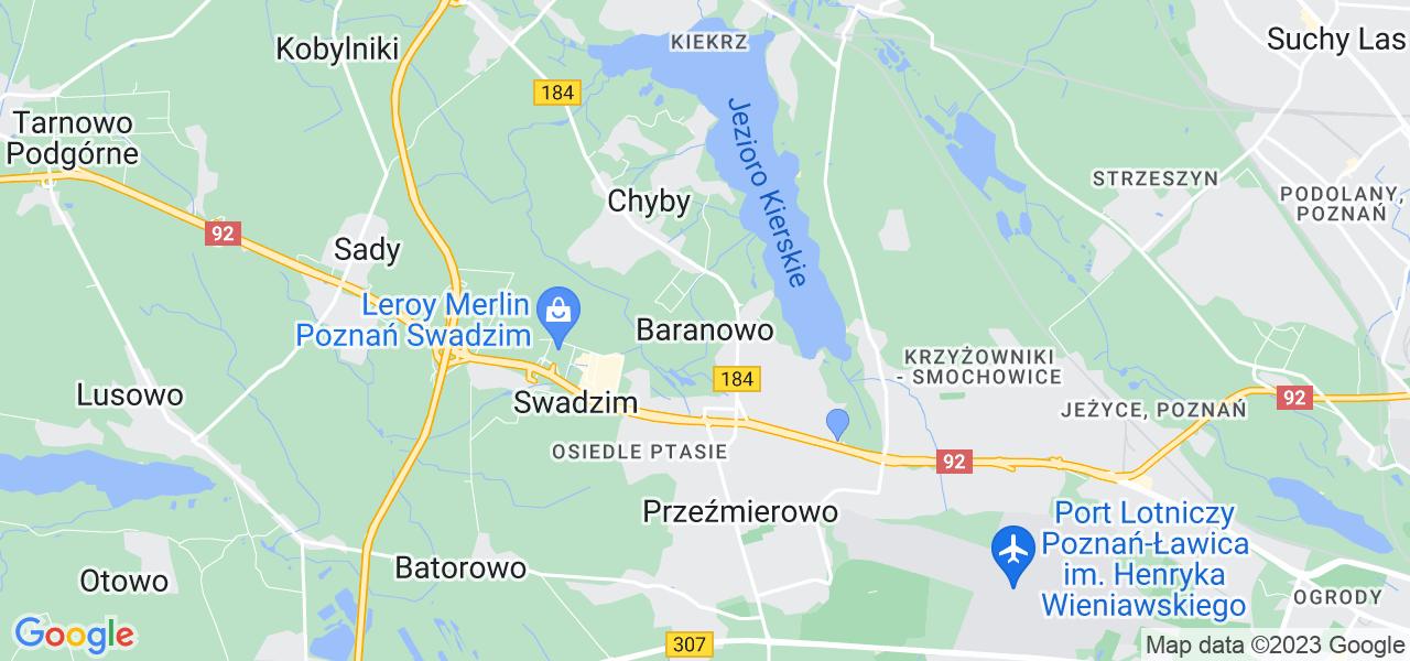 Dostępne w Baranowie lokalizacje punktów nadania, z których możesz skorzystać, chcąc wysłać turbinę do regeneracji w największym serwisie w Polsce