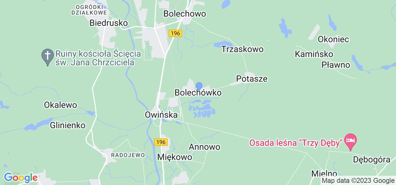 Dostępne w Bolechówku lokalizacje punktów nadania, z których możesz skorzystać, chcąc wysłać turbinę do regeneracji w największym serwisie w Polsce