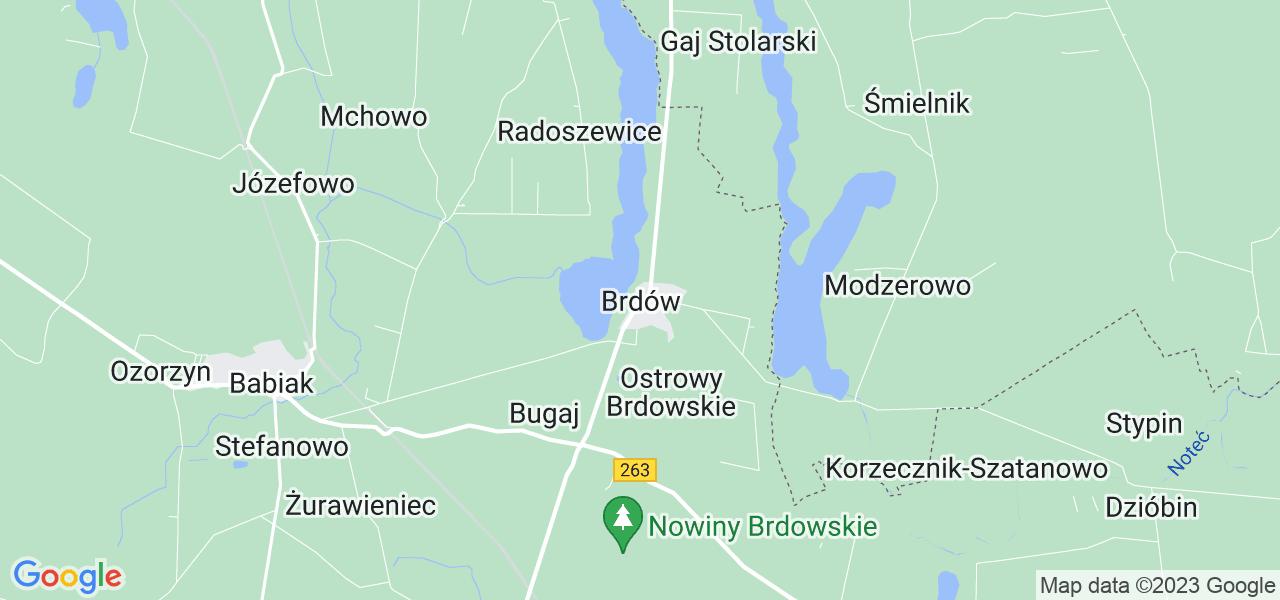 Dostępne w Brdowie lokalizacje punktów nadania, z których możesz skorzystać, chcąc wysłać turbinę do regeneracji w największym serwisie w Polsce