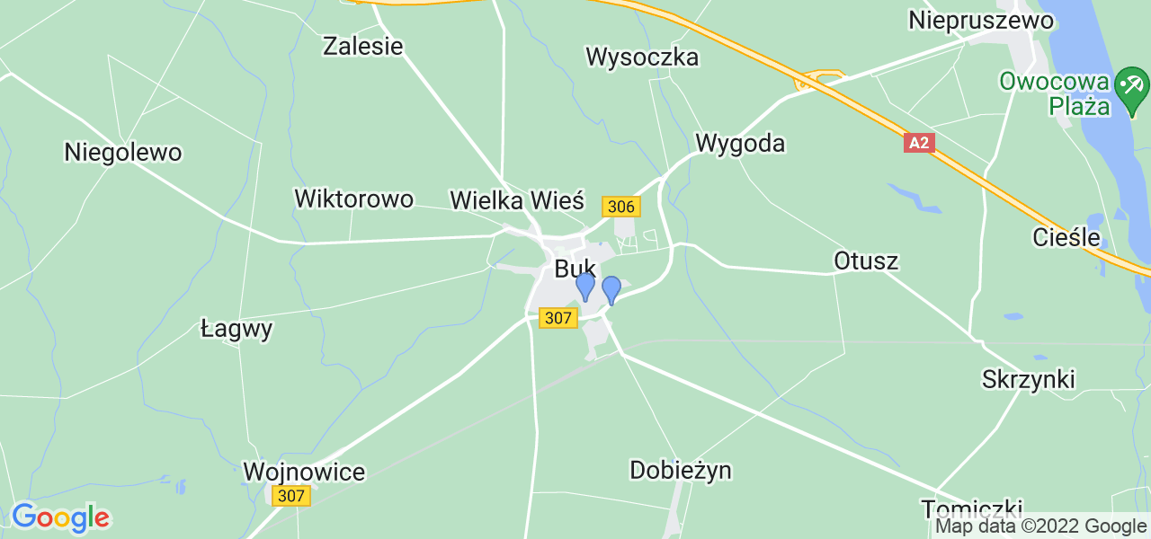 Dostępne w Buku lokalizacje punktów nadania, z których możesz skorzystać, chcąc wysłać turbinę do regeneracji w największym serwisie w Polsce