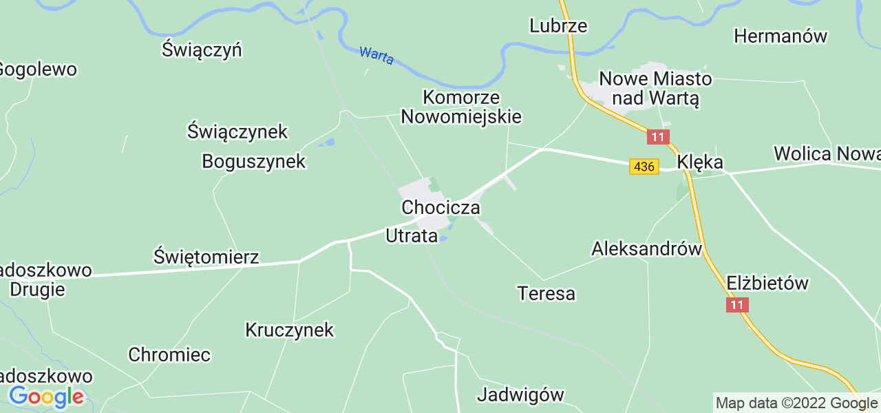 Dostępne w Chociczy lokalizacje punktów nadania, z których możesz skorzystać, chcąc wysłać turbinę do regeneracji w największym serwisie w Polsce