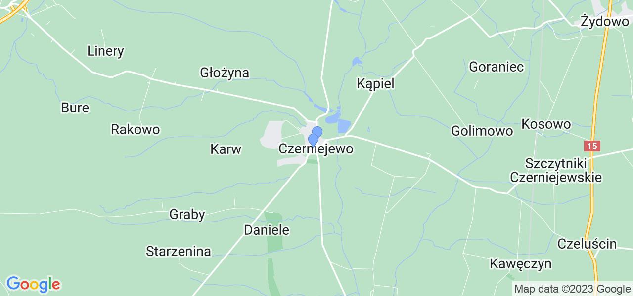 Dostępne w Czerniejewie lokalizacje punktów nadania, z których możesz skorzystać, chcąc wysłać turbinę do regeneracji w największym serwisie w Polsce