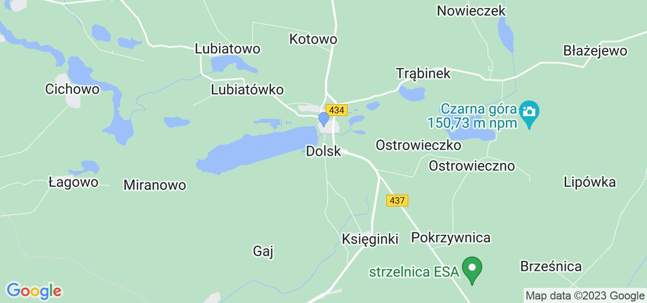 Dostępne w Dolsku lokalizacje punktów nadania, z których możesz skorzystać, chcąc wysłać turbinę do regeneracji w największym serwisie w Polsce