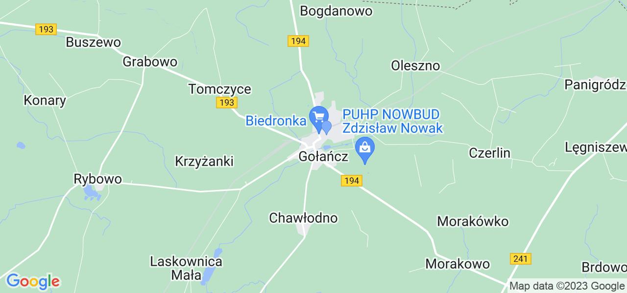 Dostępne w Gołańczy lokalizacje punktów nadania, z których możesz skorzystać, chcąc wysłać turbinę do regeneracji w największym serwisie w Polsce