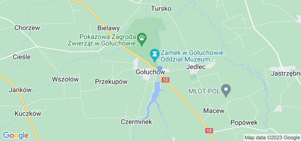 Dostępne w Gołuchowie lokalizacje punktów nadania, z których możesz skorzystać, chcąc wysłać turbinę do regeneracji w największym serwisie w Polsce