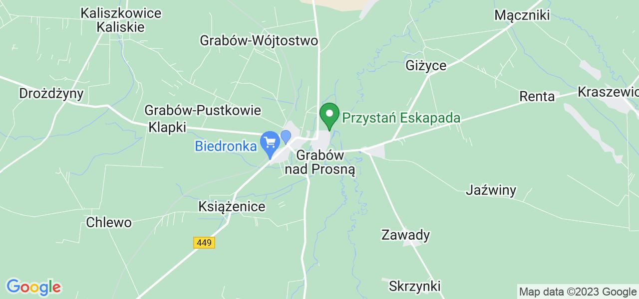 Dostępne w Grabowie nad Prosną lokalizacje punktów nadania, z których możesz skorzystać, chcąc wysłać turbinę do regeneracji w największym serwisie w Polsce