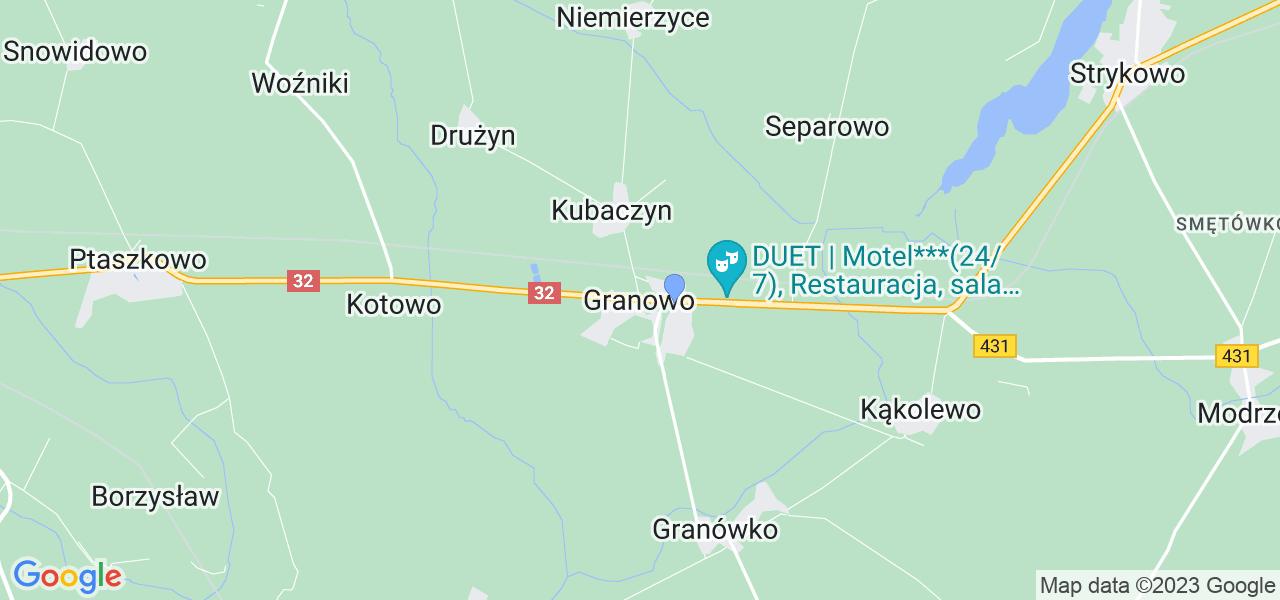 Dostępne w Granowie lokalizacje punktów nadania, z których możesz skorzystać, chcąc wysłać turbinę do regeneracji w największym serwisie w Polsce