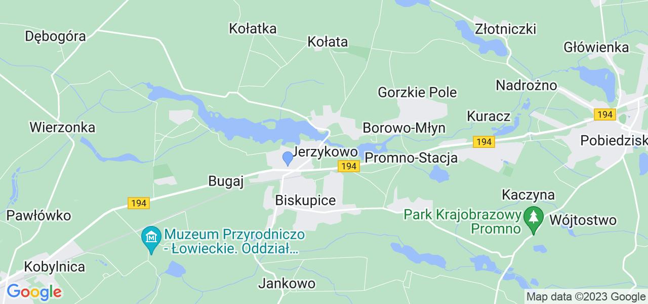 Dostępne w Jerzykowie lokalizacje punktów nadania, z których możesz skorzystać, chcąc wysłać turbinę do regeneracji w największym serwisie w Polsce