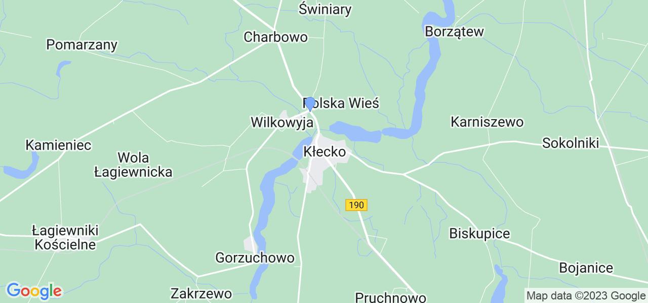 Dostępne w Kłecku lokalizacje punktów nadania, z których możesz skorzystać, chcąc wysłać turbinę do regeneracji w największym serwisie w Polsce
