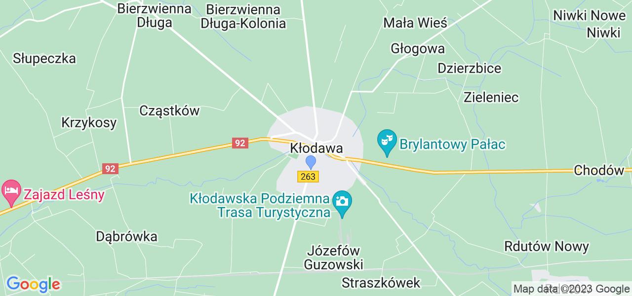 Dostępne w Kłodawie lokalizacje punktów nadania, z których możesz skorzystać, chcąc wysłać turbinę do regeneracji w największym serwisie w Polsce