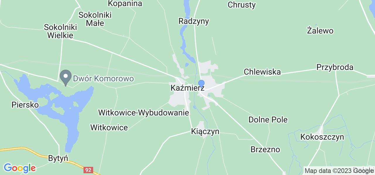 Dostępne w Kaźmierzu lokalizacje punktów nadania, z których możesz skorzystać, chcąc wysłać turbinę do regeneracji w największym serwisie w Polsce