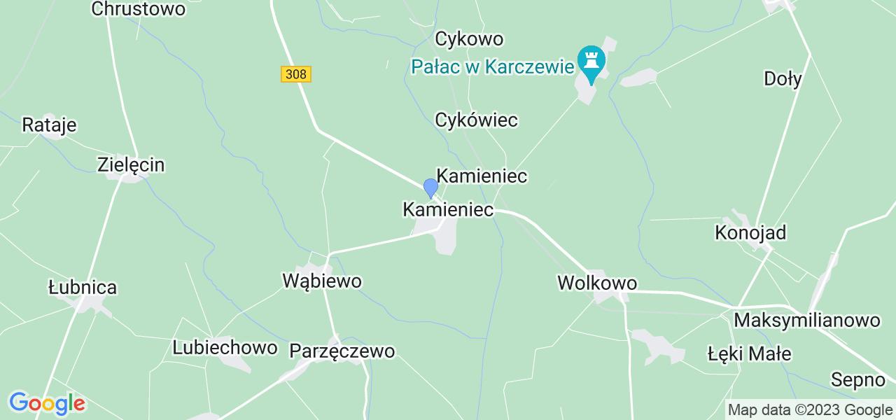 Dostępne w Kamieńcu lokalizacje punktów nadania, z których możesz skorzystać, chcąc wysłać turbinę do regeneracji w największym serwisie w Polsce