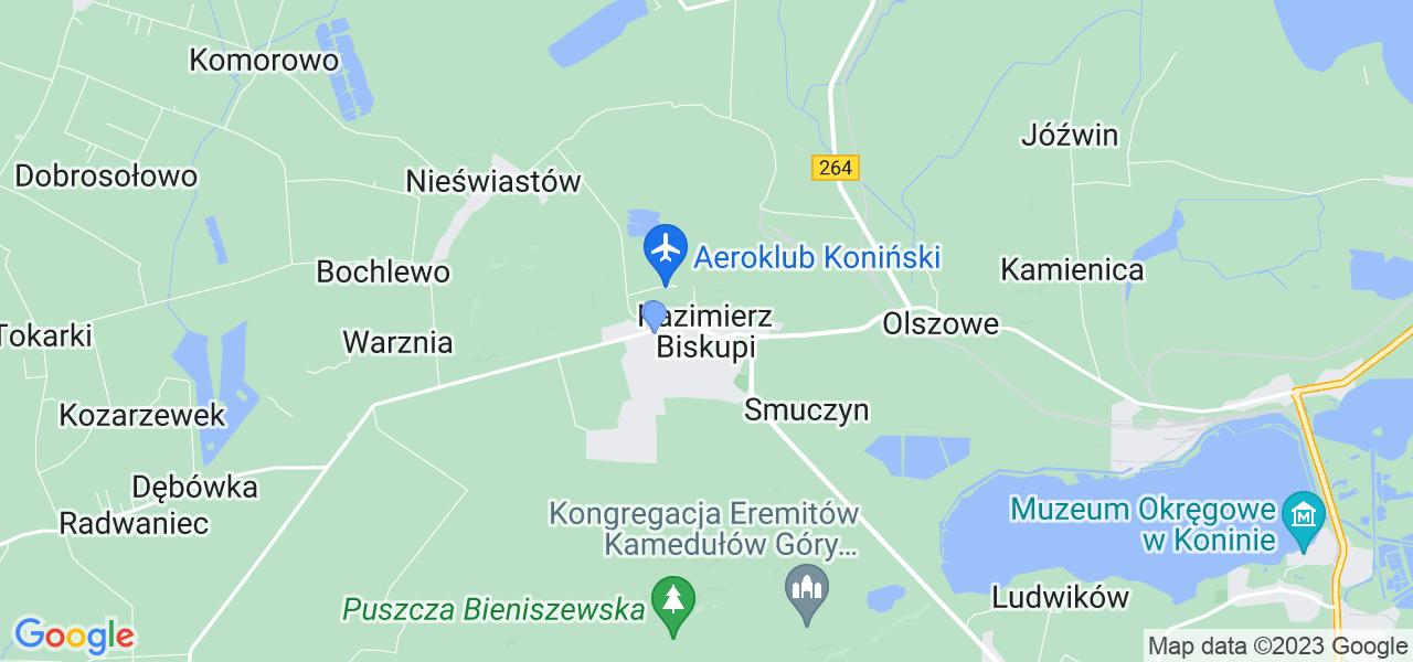 Dostępne w Kazimierzu Biskupim lokalizacje punktów nadania, z których możesz skorzystać, chcąc wysłać turbinę do regeneracji w największym serwisie w Polsce