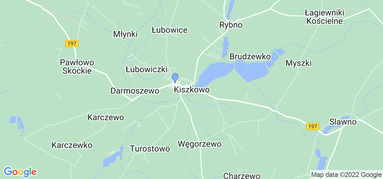 Dostępne w Kiszkowie lokalizacje punktów nadania, z których możesz skorzystać, chcąc wysłać turbinę do regeneracji w największym serwisie w Polsce