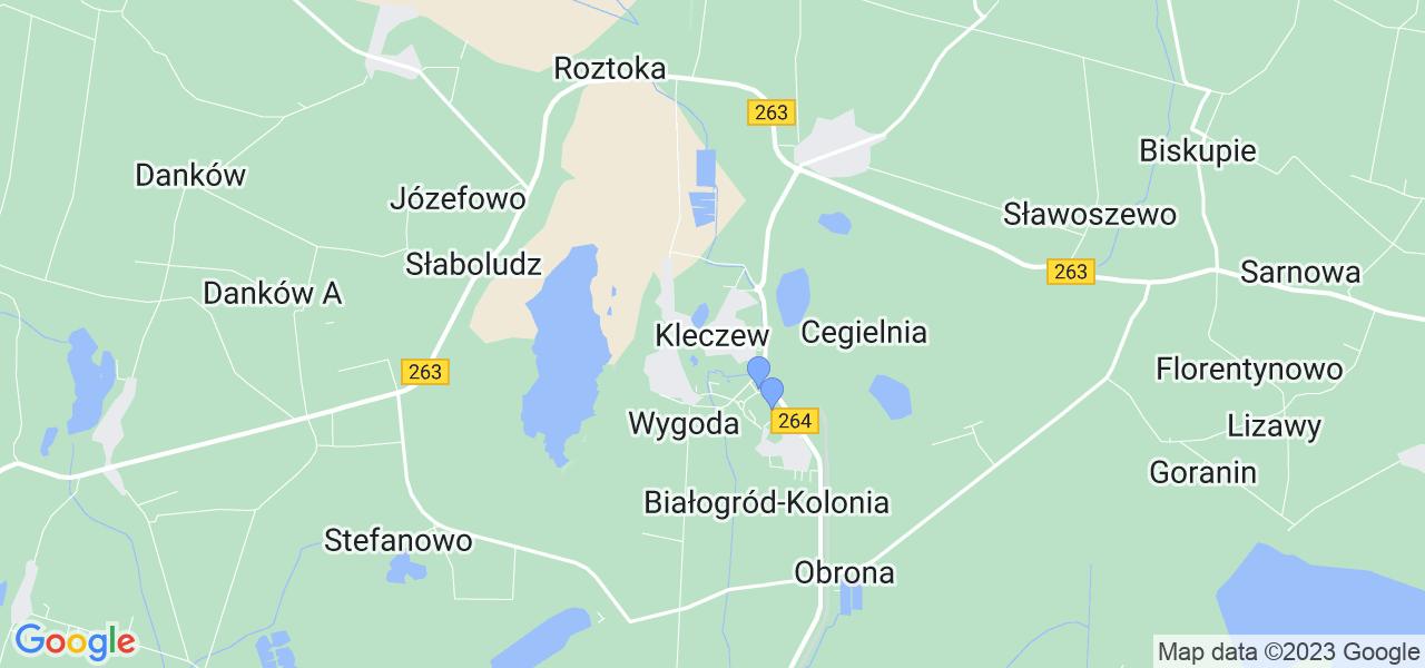 Dostępne w Kleczewie lokalizacje punktów nadania, z których możesz skorzystać, chcąc wysłać turbinę do regeneracji w największym serwisie w Polsce