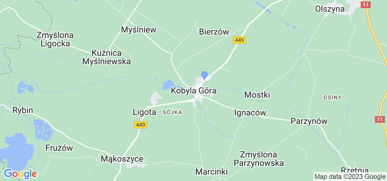 Dostępne w Kobylej Górze lokalizacje punktów nadania, z których możesz skorzystać, chcąc wysłać turbinę do regeneracji w największym serwisie w Polsce