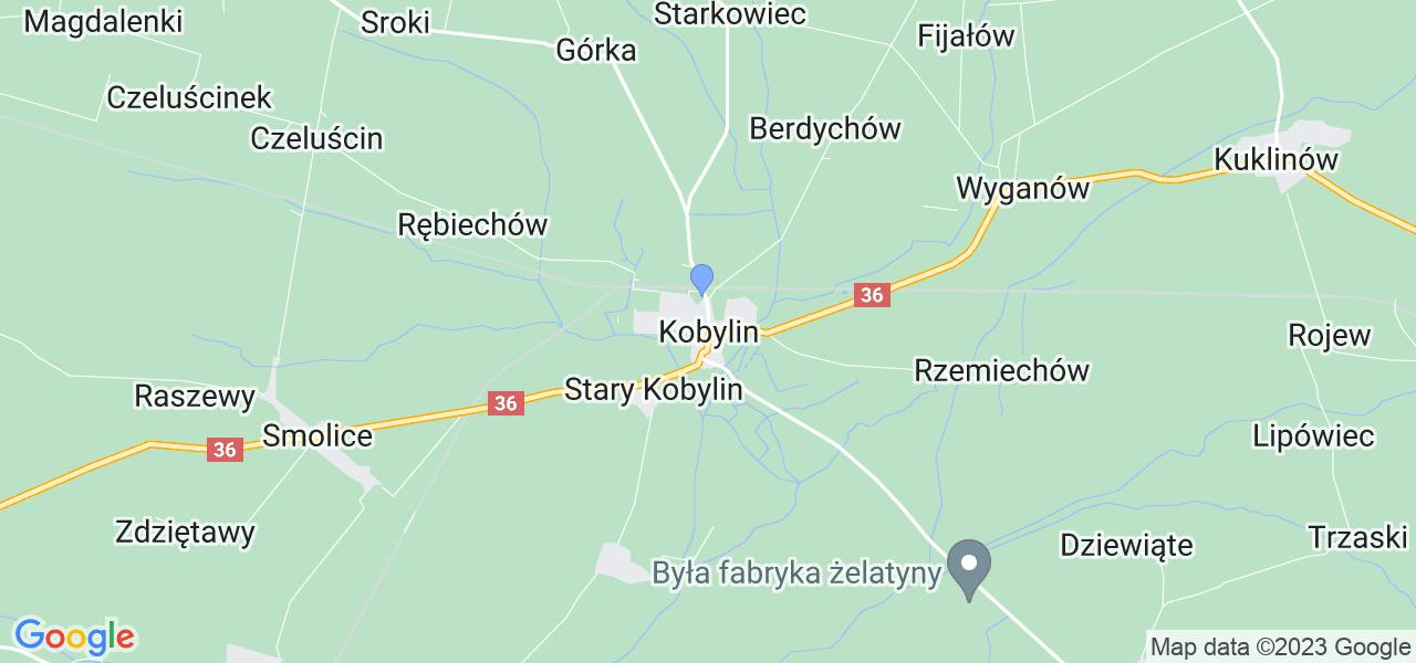 Dostępne w Kobylinie lokalizacje punktów nadania, z których możesz skorzystać, chcąc wysłać turbinę do regeneracji w największym serwisie w Polsce