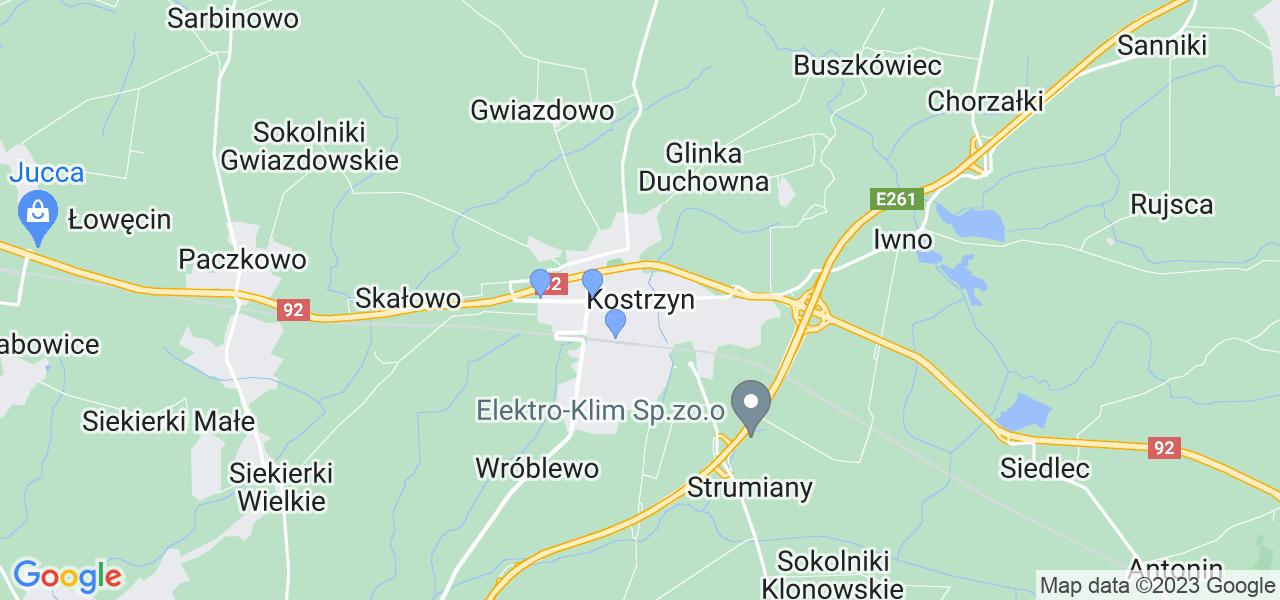 Dostępne w Kostrzynie lokalizacje punktów nadania, z których możesz skorzystać, chcąc wysłać turbinę do regeneracji w największym serwisie w Polsce