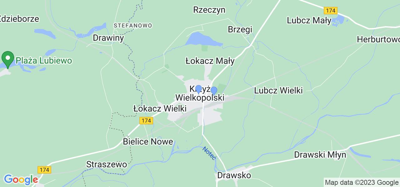 Dostępne w Krzyżu Wielkopolskim lokalizacje punktów nadania, z których możesz skorzystać, chcąc wysłać turbinę do regeneracji w największym serwisie w Polsce