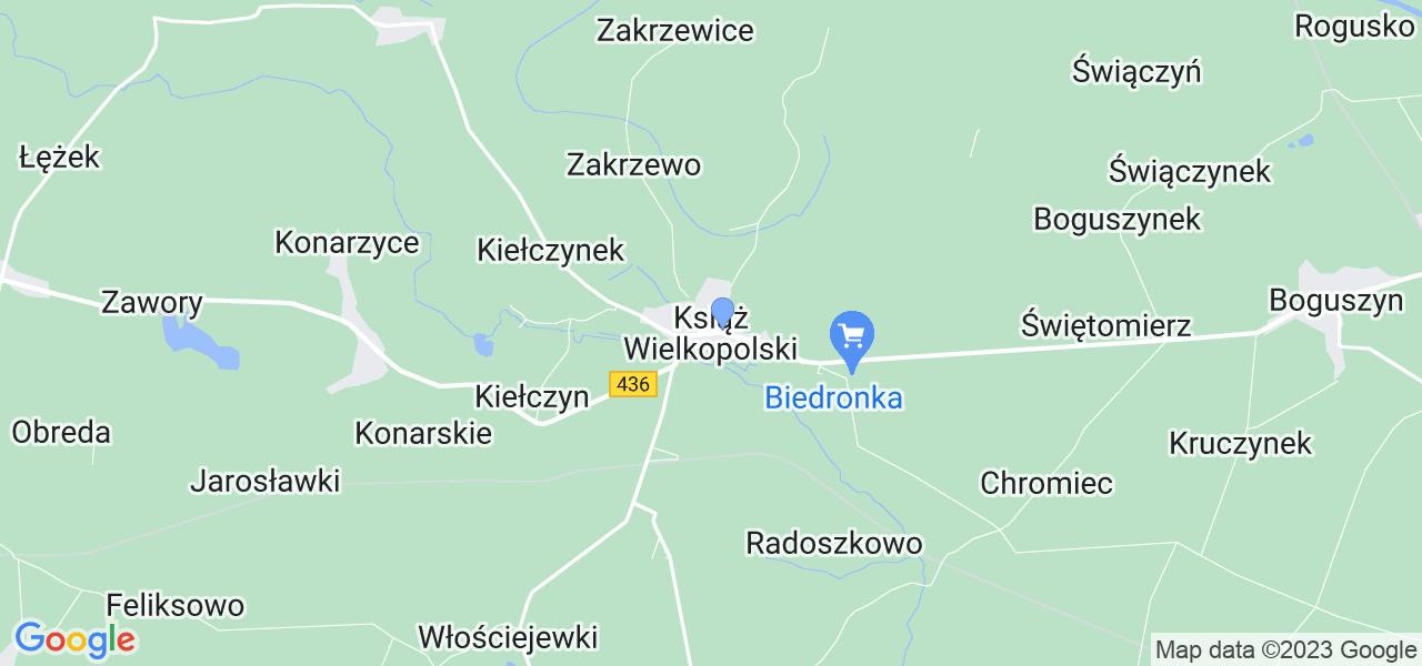 Dostępne w Książu Wielkopolskim lokalizacje punktów nadania, z których możesz skorzystać, chcąc wysłać turbinę do regeneracji w największym serwisie w Polsce