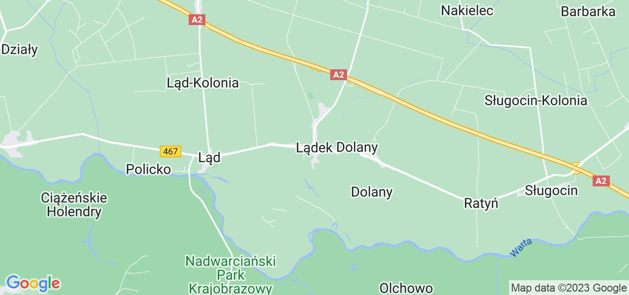 Dostępne w Lądku lokalizacje punktów nadania, z których możesz skorzystać, chcąc wysłać turbinę do regeneracji w największym serwisie w Polsce