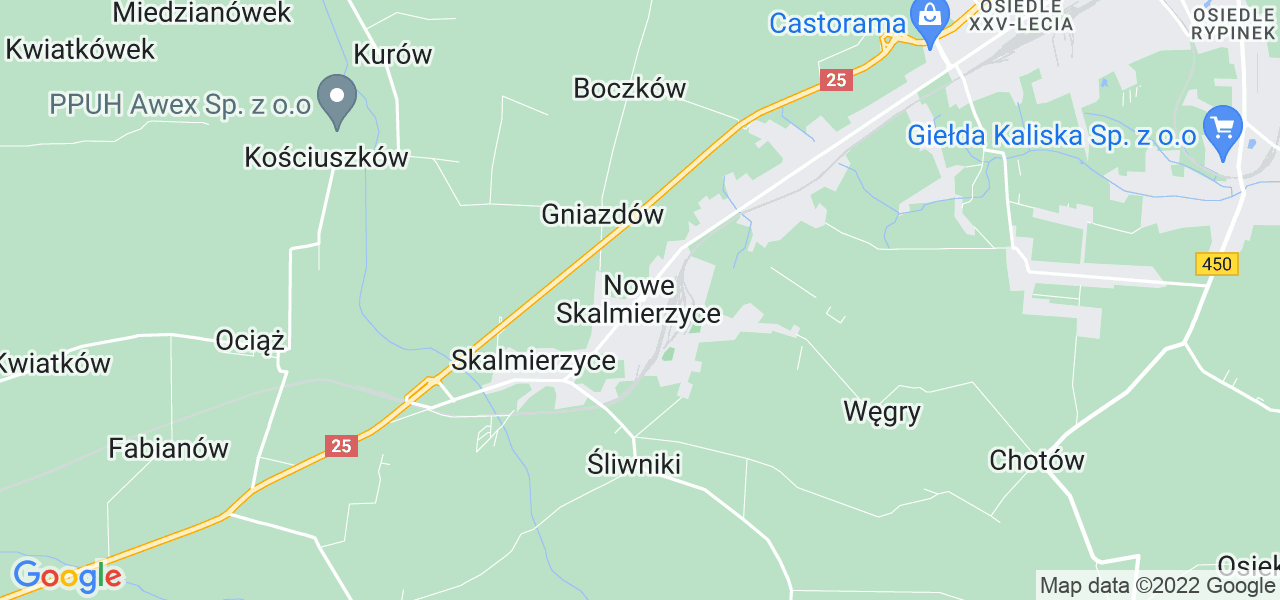 Dostępne w Nowych Skalmierzycach lokalizacje punktów nadania, z których możesz skorzystać, chcąc wysłać turbinę do regeneracji w największym serwisie w Polsce