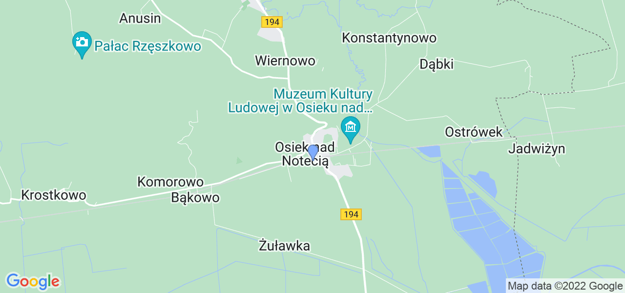 Dostępne w Osieku nad Notecią lokalizacje punktów nadania, z których możesz skorzystać, chcąc wysłać turbinę do regeneracji w największym serwisie w Polsce
