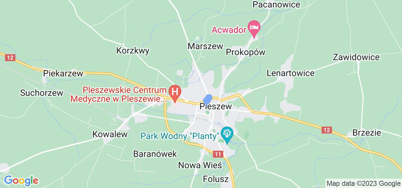 Dostępne w Pleszewie lokalizacje punktów nadania, z których możesz skorzystać, chcąc wysłać turbinę do regeneracji w największym serwisie w Polsce