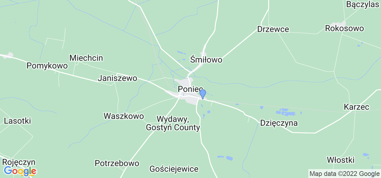 Dostępne w Pońcu lokalizacje punktów nadania, z których możesz skorzystać, chcąc wysłać turbinę do regeneracji w największym serwisie w Polsce