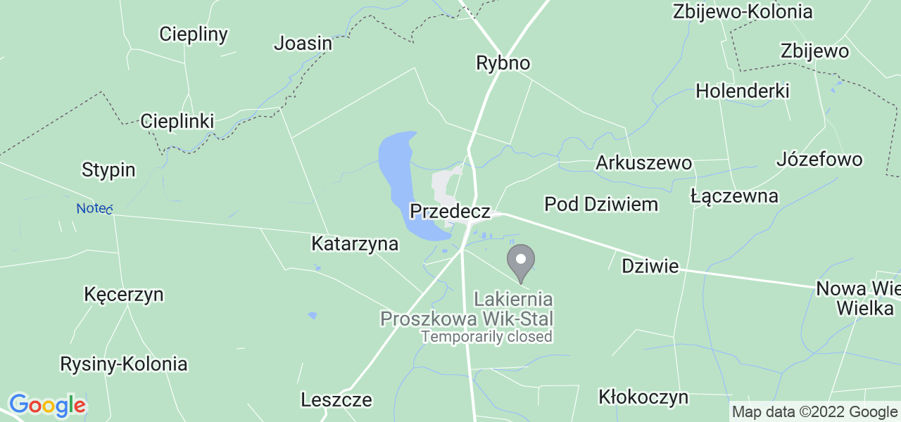 Dostępne w Przedczu lokalizacje punktów nadania, z których możesz skorzystać, chcąc wysłać turbinę do regeneracji w największym serwisie w Polsce