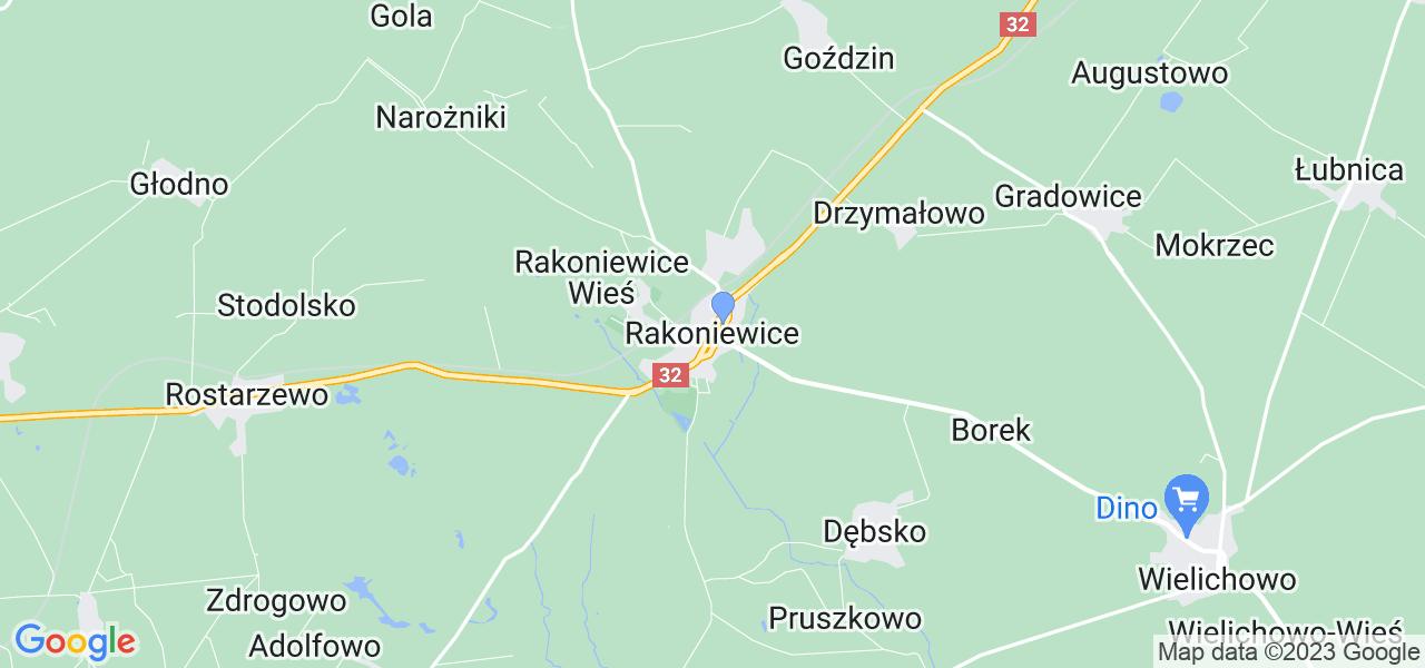 Dostępne w Rakoniewicach lokalizacje punktów nadania, z których możesz skorzystać, chcąc wysłać turbinę do regeneracji w największym serwisie w Polsce