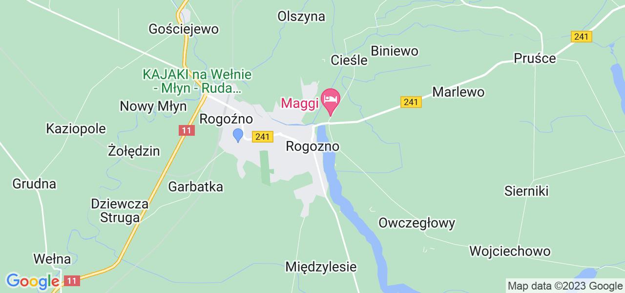 Dostępne w Rogoźnie lokalizacje punktów nadania, z których możesz skorzystać, chcąc wysłać turbinę do regeneracji w największym serwisie w Polsce
