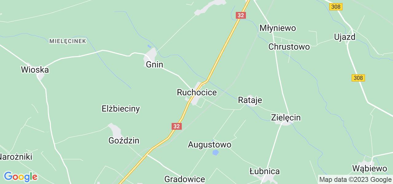 Dostępne w Ruchocicach lokalizacje punktów nadania, z których możesz skorzystać, chcąc wysłać turbinę do regeneracji w największym serwisie w Polsce