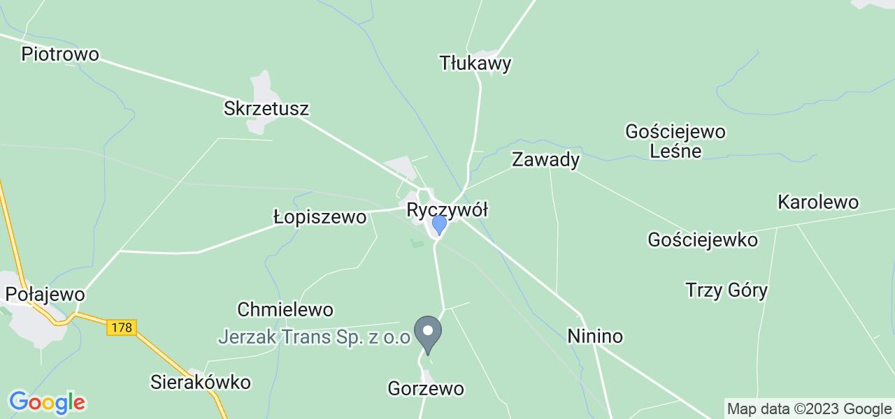 Dostępne w Ryczywole lokalizacje punktów nadania, z których możesz skorzystać, chcąc wysłać turbinę do regeneracji w największym serwisie w Polsce