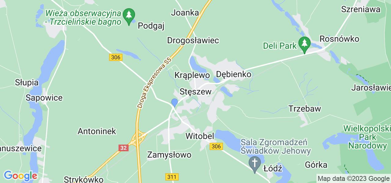 Dostępne w Stęszewie lokalizacje punktów nadania, z których możesz skorzystać, chcąc wysłać turbinę do regeneracji w największym serwisie w Polsce